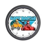 Kart Racing Wall Clock