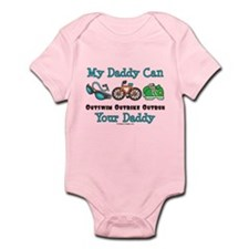 My Daddy Triathlon Baby Infant Bodysuit