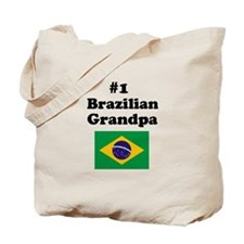 #1 Brazilian Grandpa Tote Bag