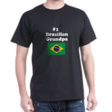 #1 Brazilian Grandpa T-Shirt