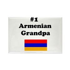 #1 Armenian Grandpa Rectangle Magnet