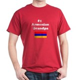 #1 Armenian Grandpa T-Shirt