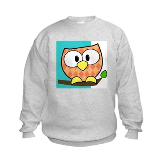 Colorful Owl Kids Sweatshirt