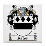 Aston Family Crest Tile Coaster