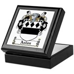 Aston Family Crest Keepsake Box