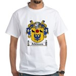 Atkinson Family Crest White T-Shirt