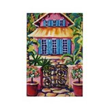 Honeymoon Cottage Rectangle Magnet