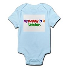 My Mommy Is A Teacher (PR) Infant Bodysuit