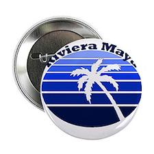 "Riviera Maya, Mexico 2.25"" Button (100 pack)"