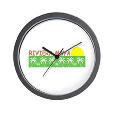 Riviera Maya, Mexico Wall Clock