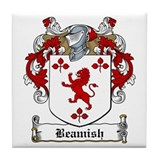 Beamish Family Crest Tile Coaster