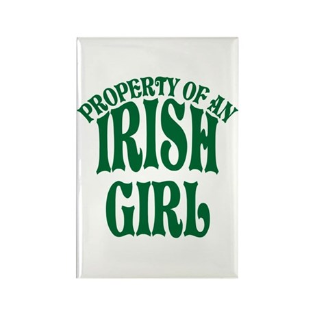 Property of an Irish Girl Rectangle Magnet