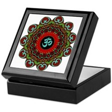 Om of Chaos Keepsake Box