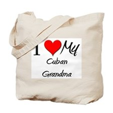 I Heart My Cuban Grandma Tote Bag