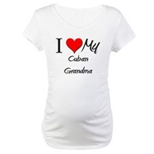 I Heart My Cuban Grandma Shirt