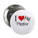 "I Heart My Pastor 2.25"" Button"
