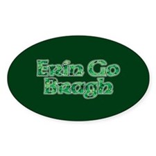 Erin Go Bragh v10 Oval Decal