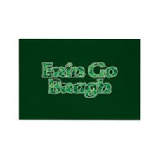 Erin Go Bragh v10 Rectangle Magnet
