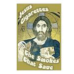 8 Jesus Cigarettes Postcards