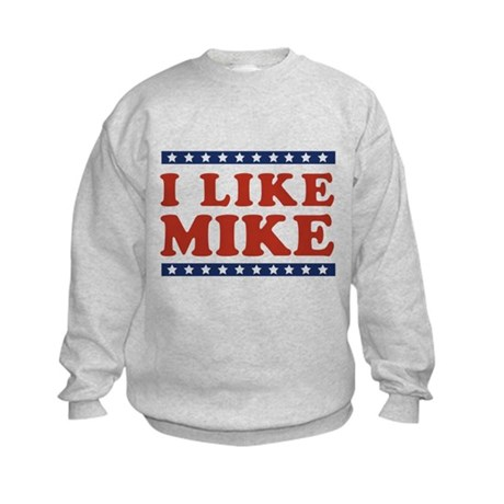 I Like Mike Kids Sweatshirt