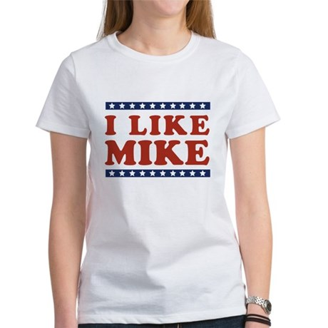 I Like Mike Womens T-Shirt