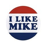 I Like Mike 3.5&quot; Button