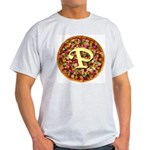 The Great Pizza Monogram Light T-Shirt