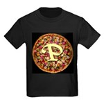 The Great Pizza Monogram Kids Dark T-Shirt