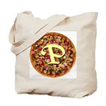 The Great Pizza Monogram Tote Bag