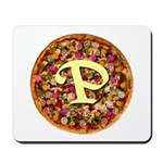 The Great Pizza Monogram Mousepad