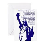Give Me Your Tired (10 Greeting Cards)