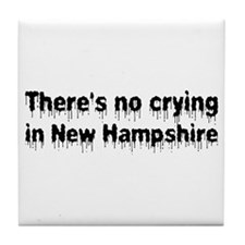 Anti-Hillary in New Hampshire Tile Coaster