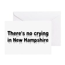 Anti-Hillary in New Hampshire Greeting Card