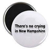"Anti-Hillary in New Hampshire 2.25"" Magnet (10 pac"