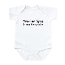 Anti-Hillary in New Hampshire Infant Bodysuit