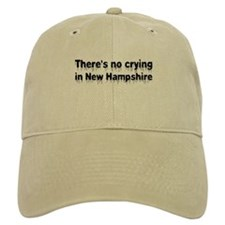 Anti-Hillary in New Hampshire Baseball Cap