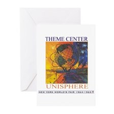 Theme Center - Unisphere Greeting Cards (Package o