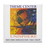 Theme Center - Unisphere Tile Coaster