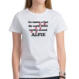 The World Revolves Around Alf Tee