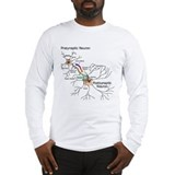 Neural Synapse  Long Sleeve T-Shirt