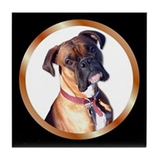 Boxer Dog Tile Coaster