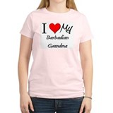 I Heart My Barbadian Grandma T-Shirt