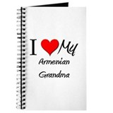 I Heart My Armenian Grandma Journal