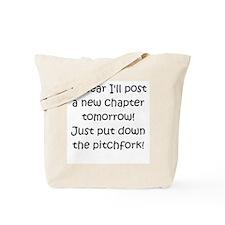 New Chapter - Pitchfork Black Tote Bag