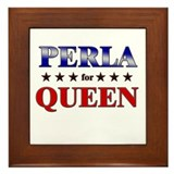 PERLA for queen Framed Tile