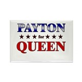 PAYTON for queen Rectangle Magnet