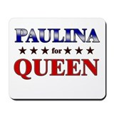 PAULINA for queen Mousepad