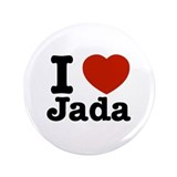"I love jada 3.5"" Button (100 pack)"