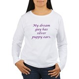 Dream Guy Silver Puppy Ears P T-Shirt