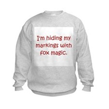 Markings Fox Magic Red Sweatshirt